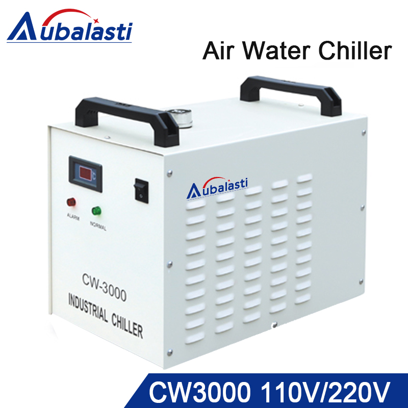 S&A CW3000 Industry laser chiller 60W 80W Air Water Chiller laser co2 for CO2 Laser Engraving Cutting Machine Cooling cw5000 industry air water chiller for co2 laser engraving cutting machine cooling 80w 100w laser tube