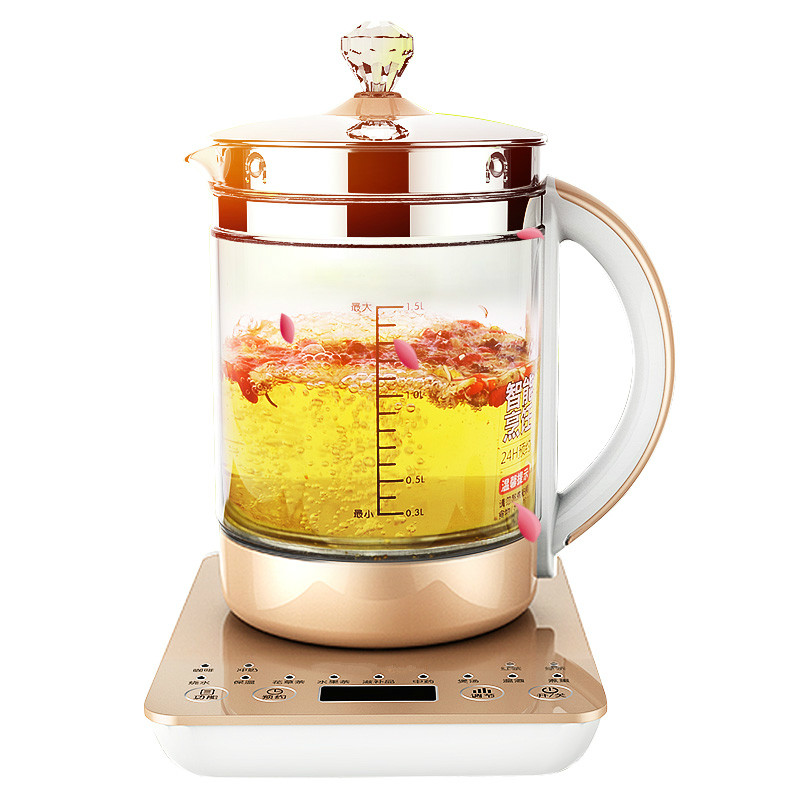 NEW Health pot thickened glass full automatic Chinese medicine split boiling teapot