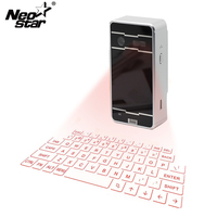 New Bluetooth Laser Projection Keyboard And Mouse For Smartphone PC Laptop Hot Portable Virtual Keyboard Speaker