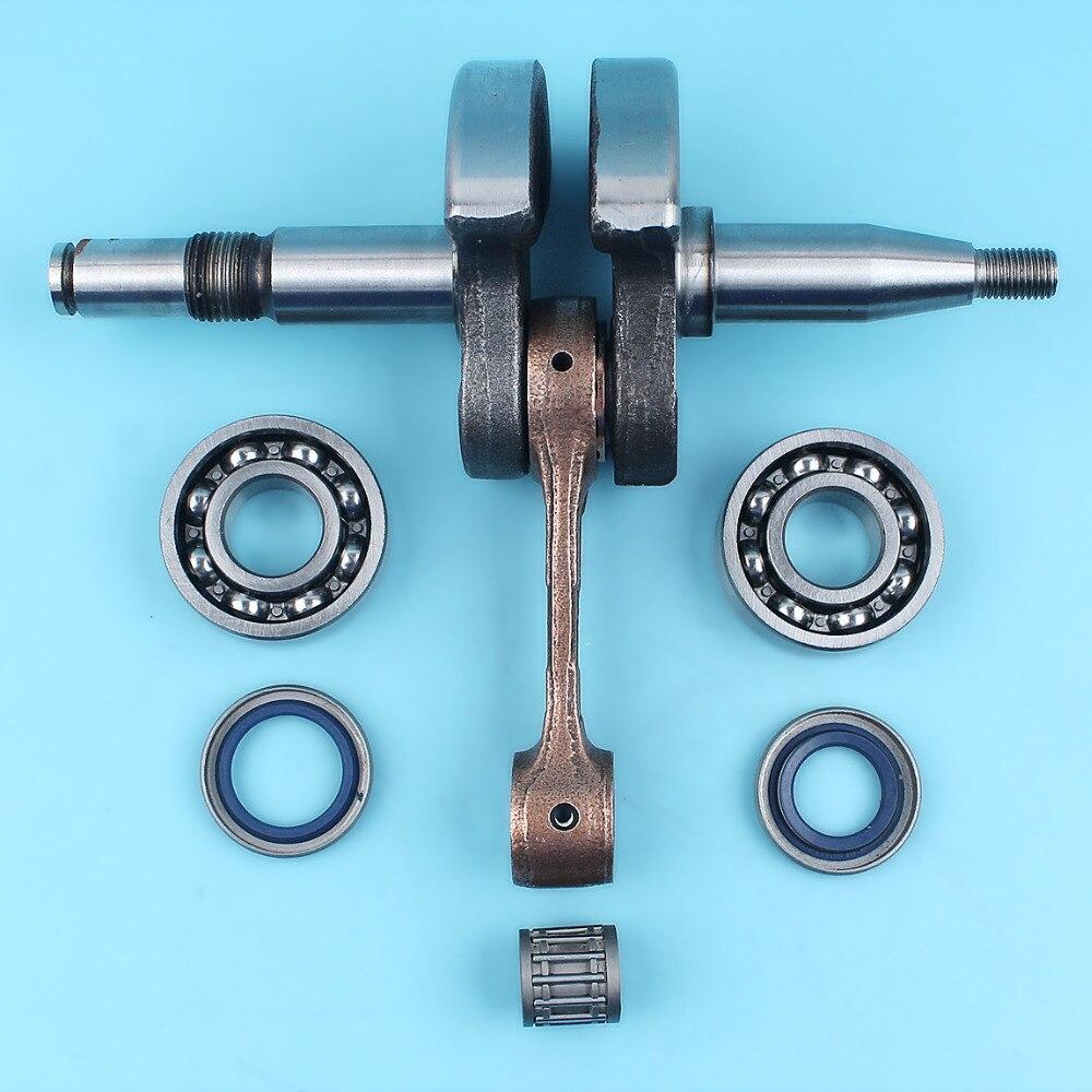Crankshaft Crank Shaft Ball Bearings Oil Seal Kit For HUSQVARNA 362 365 372 371 372XP JONSERED 2063 2065 2071 2166 2171 Chainsaw