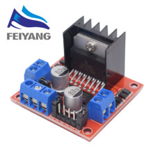 10PCS New Dual H Bridge DC Stepper Motor Drive Controller Board Module L298N for Arduino smart car robot