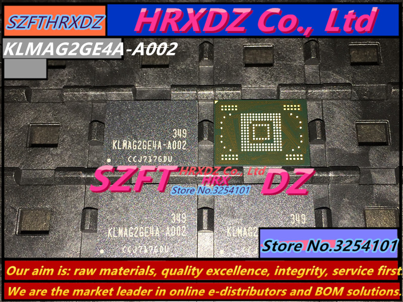SZFTHRXDZ 100% New original KLMAG2GE4A-A002 EMMC 16GB BGA KLMAG2GE4A A002 100% new original klmag2wemb b031 16g emmc bga klmag2wemb b031