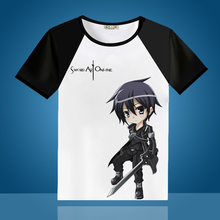 Sword Art Online Kirito Asuna Short Sleeve