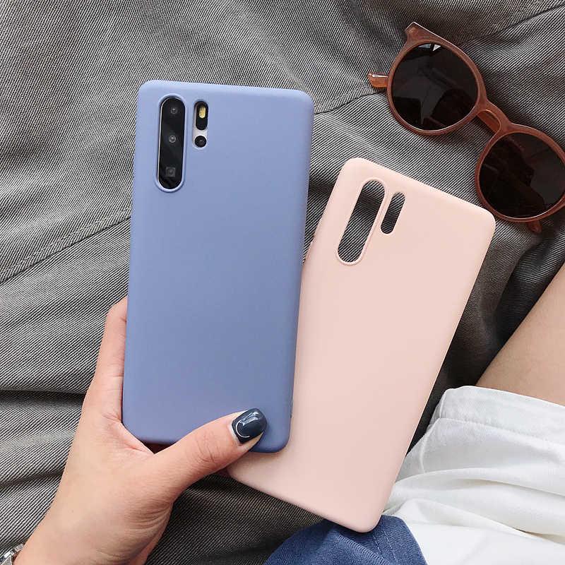 Мягкий ТПУ силиконовый чехол для телефона ярких цветов для huawei P30 Lite P20 mate 30 mate 20 10 Nova 5 Y9 2019 Y5 Y6 Prime Y7 Pro