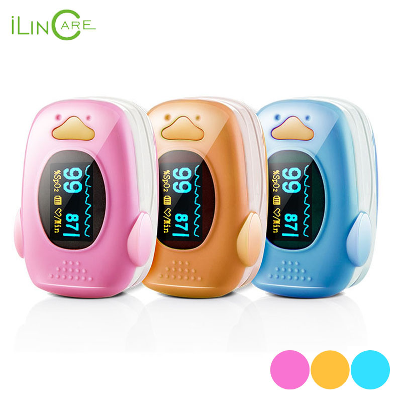 SpO2 and Heart rate Measuring Fingertip Pulse Oximeter for Child and Adult