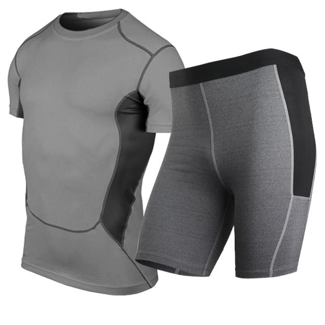Quick-Dry Yoga Clothing Set for Men