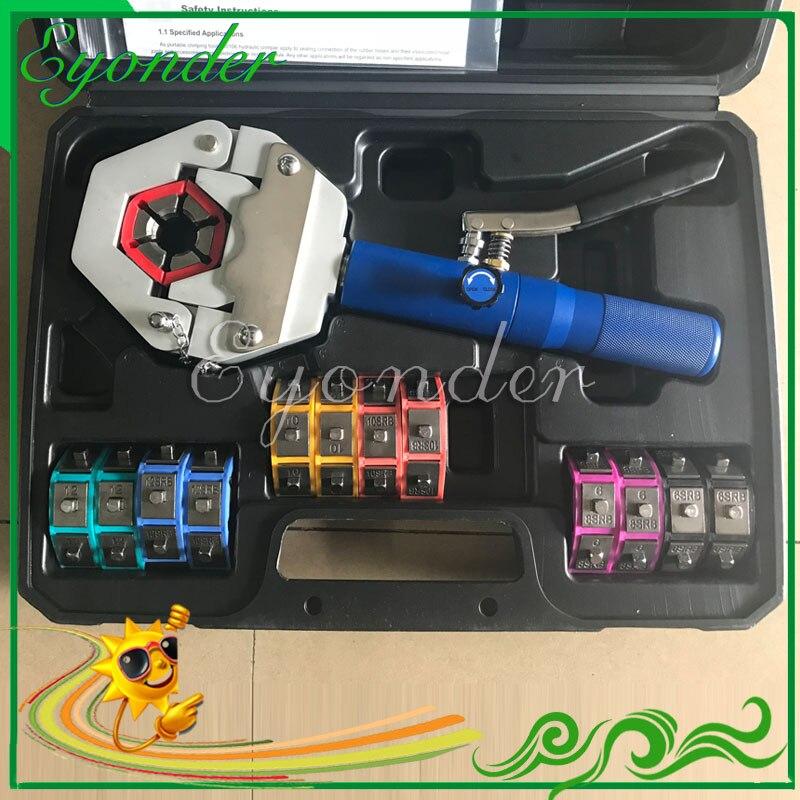 Гидравлическое устройство для натяжки Авто Maintaince RMT S0106 Руководство A/C AC кондиционер шланг Hydra krimp щипцы ручной обжимной инструмент машина