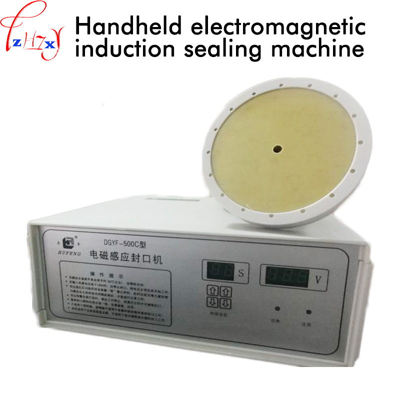 220V 500W 1PC Hand-held electromagnetic induction sealing machine DGYF-500C electromagnetic induction sealing machine 60-130mm 220V 500W 1PC Hand-held electromagnetic induction sealing machine DGYF-500C electromagnetic induction sealing machine 60-130mm