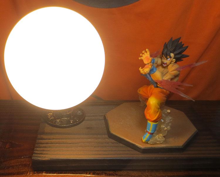 Knl хобби Dragon Ball LED Настольная лампа хит сезона руки Обезьяна Король глаз Blaster LED творческий подарок на день рождения Бесплатная доставка пятн...