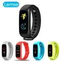 Lemse L30T Inteligente Bluetooth banda Llamada Mensaje recordatorio Pulsera pulsómetro rastreador de ejercicios Para IOS android Smartphone