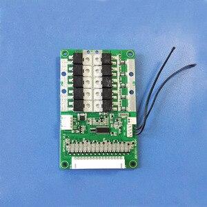 Image 3 - 48 V หรือ 54.6 V 13 S แบตเตอรี่ li ion BMS พร้อม 60A คงที่ charge and discharge current balance ฟังก์ชั่น PCB UART