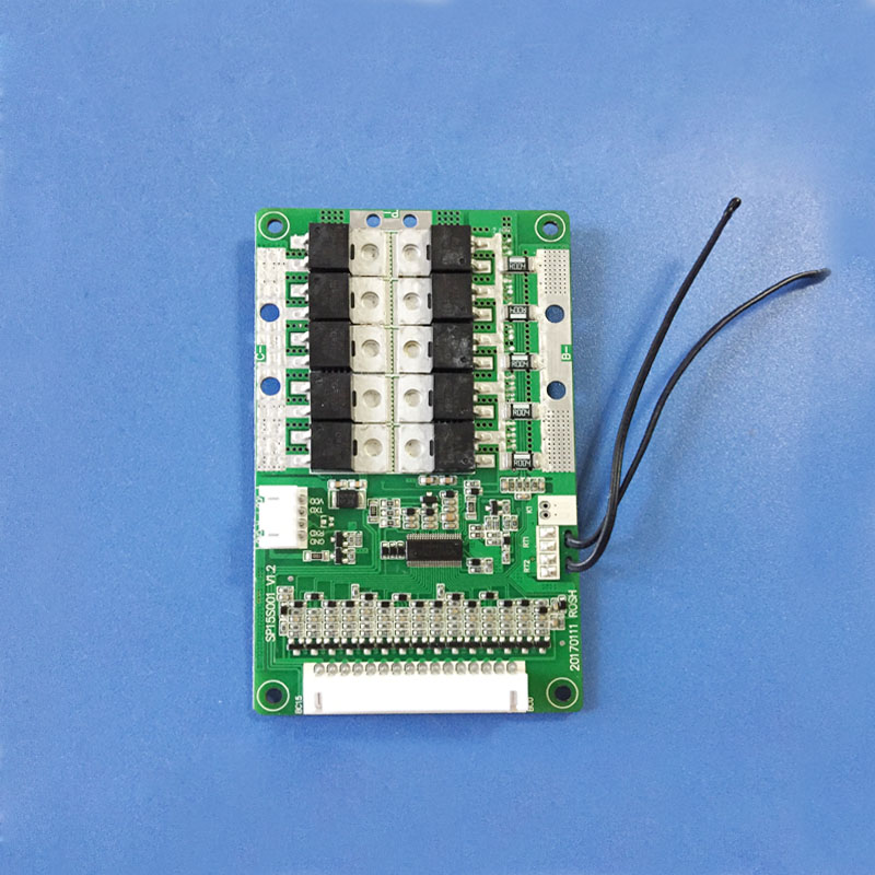 Image 3 - 48V or 54.6V 13S bluetooth li ion Battery BMS with 60A constant charge and discharge current balance function PCB  UART-in Integrated Circuits from Electronic Components & Supplies