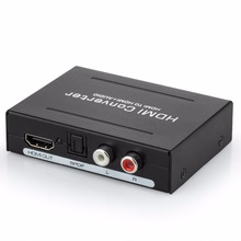 4K HDMI Audio Extractor Converter HDMI to HDMI Optical Toslink SPDIF +RCA L/R Stereo Analog 5.1 HDMI Spdif Splitter цена и фото