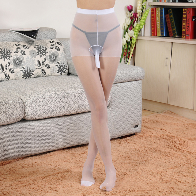 Penis Pouch Sheath Underwear Hot Sale Fashion Mens Tights For Men 4 Colors Silk Stockings New Pantyhose