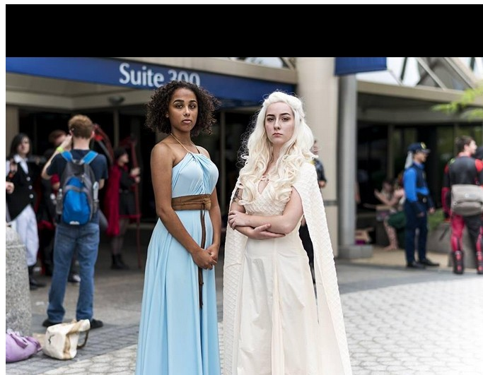 Game Of Thrones 5 Halloween Daenerys Targaryen Qarth Dress Party Costume Cosplay
