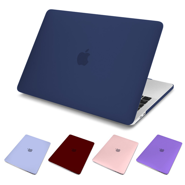 For Macbook New Air 13 2018 A1932 Retina Air 11 12 15 Case for Macbook Pro 13 15 Touch Bar A1707 A1989 A1990 Matte Laptop Cover