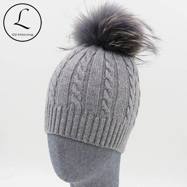 Gzhilovingl Mode Gestreiften Winter Hüte Für Frauen Männer Häkeln