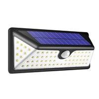 73 LEDs Powerful PIR Motion Sensor Wall Light IP65 Outdoor Energy Saving Path way Garden Security Lamp 3.7V