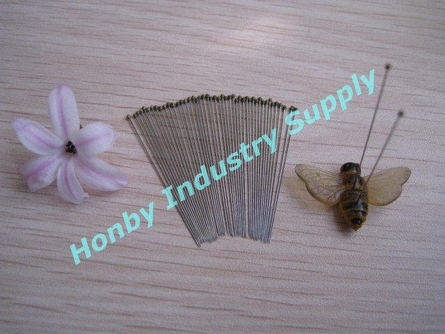 Honby Stainless Steel Insect Pins for Entomologists, Size 2, Free Shipping!