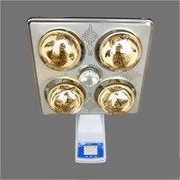 Водостойкая взрывостойкая настенная лампа Yuba для ванной комнаты, с подогревом, с четырьмя лампами, с подогревом, настенная лампа, теплая ван