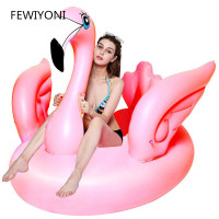 150 * 110 * 90CM inflatable flamingo swimming floats adult swimming pool float swimming ring water fun swimming pool toys