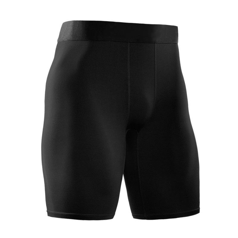 Men Yoga Solid Color High Waist Slant Running Training Sports Quick-drying Tight-fitting Stretch Fitness  Sports Wear