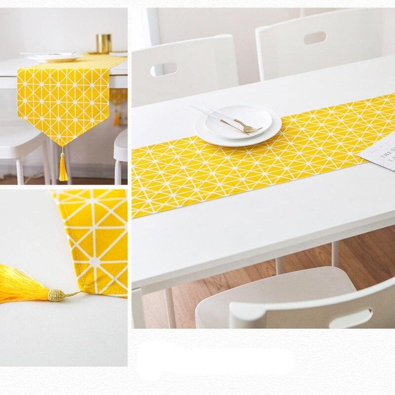 Cotton Christmas Table Runner Best Children's Lighting & Home Decor Online Store