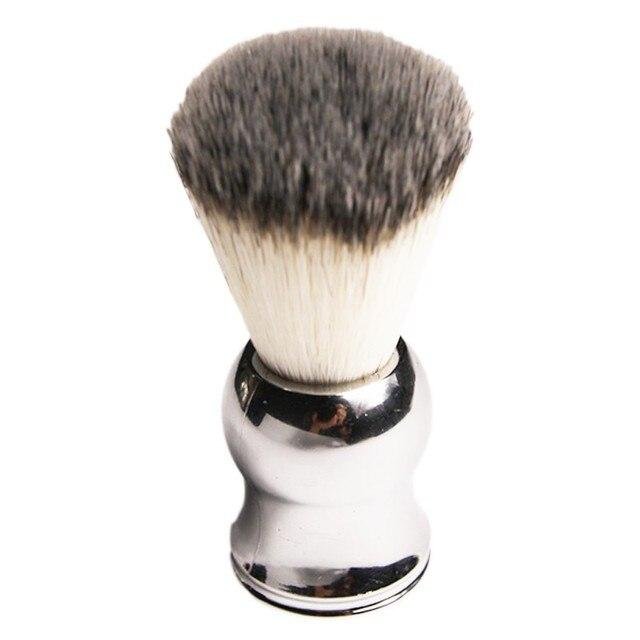 Чистый волос барсука Кисточки для бритья брить бороду Расчёски для волос с покрытием ручки как подарок для папы и Boyfriend