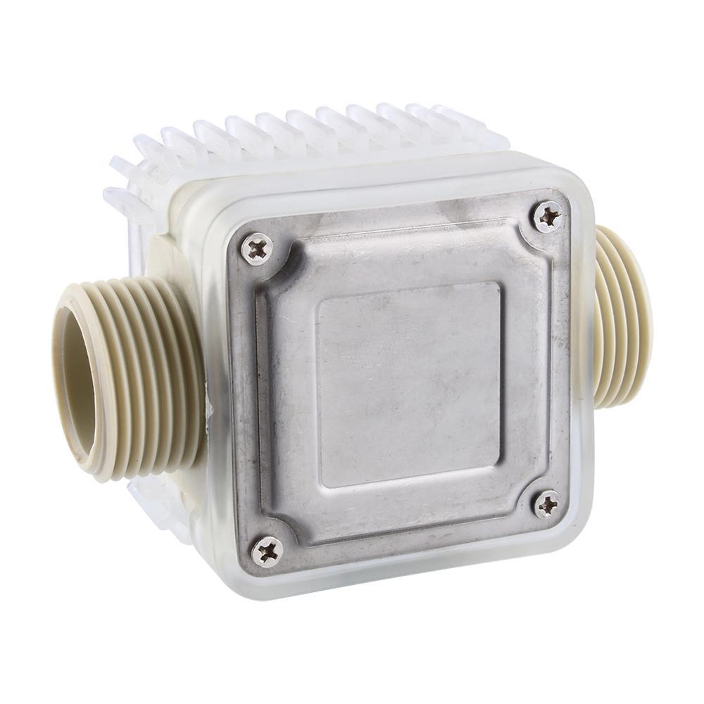 Image 5 - Digital LCD Fuel Flow Meter K24 Turbine Diesel Fuel Flow Meter for Chemicals Water Sea Adjust Liquid Flow Meters Measuring Tools-in Flow Meters from Tools
