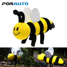 FORAUTO Cute Bee Car Antenna Ornaments For Car Decoration Interior Accessories Lovely Antenna Topper Car Ornaments Brand New