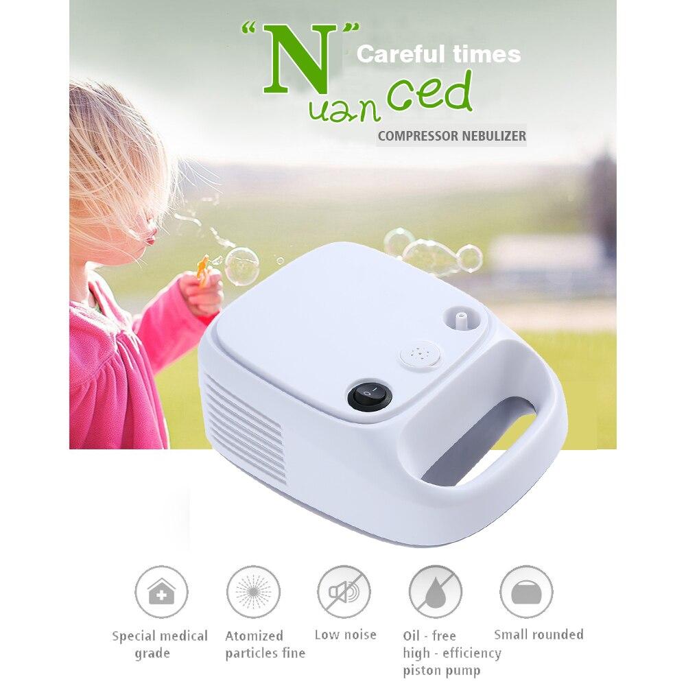 Carevas Compresseur Nébuliseur Compact Vaporisateur Compresseur Système Enfants Adulte Santé Relief de Soins Respiratoires Médecine Thérapie