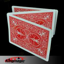 5pcs Magic Card Special Bicycle Card (Double Red Back) Magic