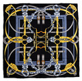 Elegant Square 14MM 100% Twill Silk Scarf TWIC-89193