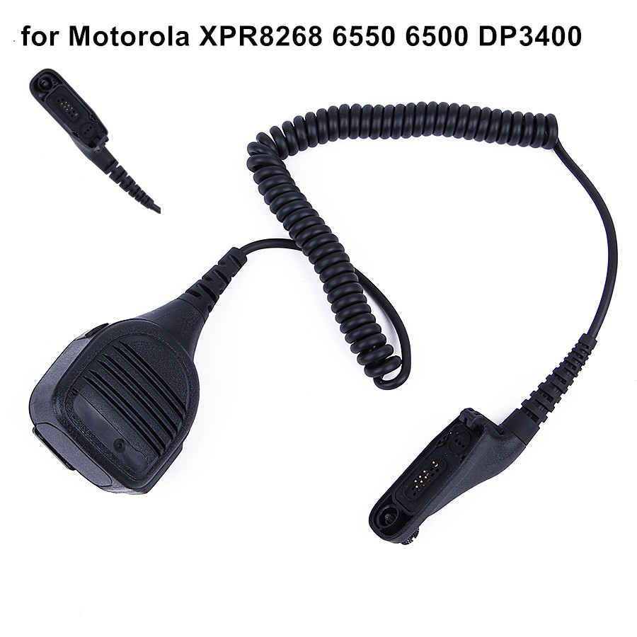New Mic Microphone For Walkie Talkie for Motorola XPR8268 6550 6500 DP3400 Handheld Speaker Mic for
