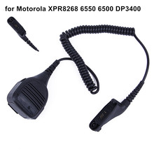 New Mic Microphone For Walkie Talkie for Motorola XPR8268 6550 6500 DP3400 Handheld Speaker Mic for Motorola Radio