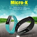 Micro-K Heart Rate Monitor Smart Band bluetooth sport fitness tracker wrist bracelet for iOS Android Pk xiaomi Meizu smartband