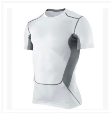 6 Colors Men's Base Layer Compression Shirts Boy's Short Sleeve Top