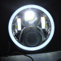 Motorcycle Headlight Led Halo Ring For Honda CB400 CB500 CB1300 Hornet 250/600/900 VTEC400 VTR250 CB250 Refit Round Light