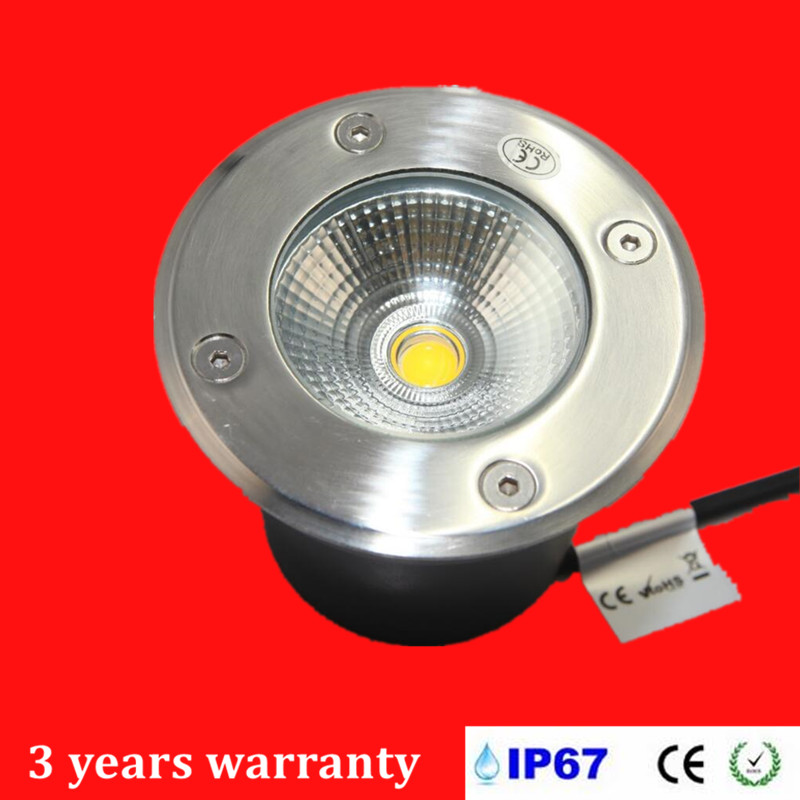 Collection Here Free Shipping 12w Cob Led Underground Light Spot Lamp Ip67 Waterproof Lamp Outdoor Under Ground Garden Light Ac85-265v/dc12v Led Lamps