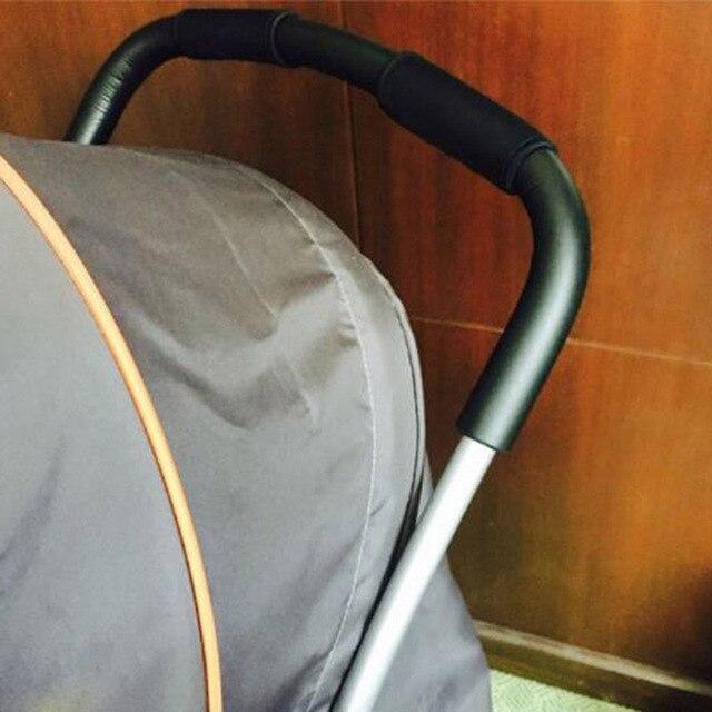 Nieuwe Stijl Baby Kinderwagen Handvat Nylon Wandelwagen Wandelwagen Armsteun Beschermhoes 1 Paar Algemene Wandelwagen Stuur Cover Beschermhoe