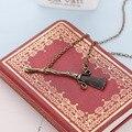 Perak, collar de Harry Potter reliquias de la muerte la Escoba Mágica clásico collar y colgante de la venta caliente regalos de navidad N0363 jewelrey
