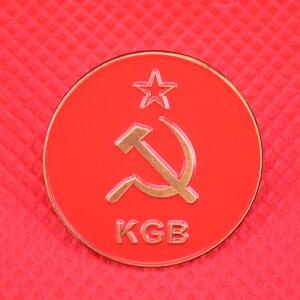 Русская КГБ значка, красная звезда, булавки, ccccp, Подарочная брошь для мужчин, коммунизма, патриота, антикварная коллекция ww2