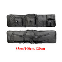 Tactical Hunting Backpack 85cm 100cm 120cm Dual Rifle Square Carry Bag With Shoulder Strap Gun Protection