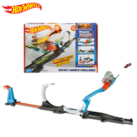 2018 NEW Hotwheels Launch Challenge playset Carros Track Model CarsTrain Kids Plastic Metal Hot Toys For Children Juguete