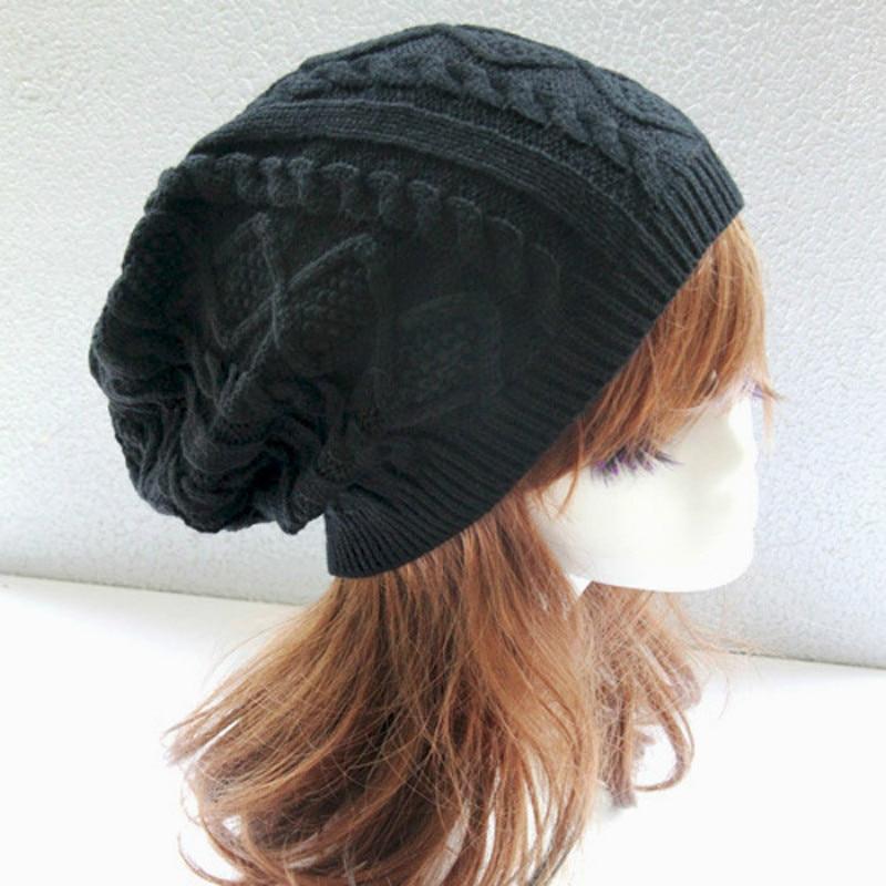 Womens Fall Fashion Hats Twist Pattern Beanies Winter Gorros for Female Knitted Warm Skullies Touca Chapeu Feminino fashion letter hats gorros bonnets cocain