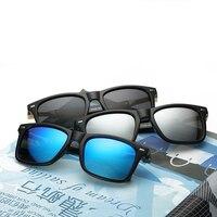 Mens Polarized Sunglasses 2018 New Fashion Stylish Sunglass Driving Sun Glass Designer Wholesale Plastic Sunglasses WD0762