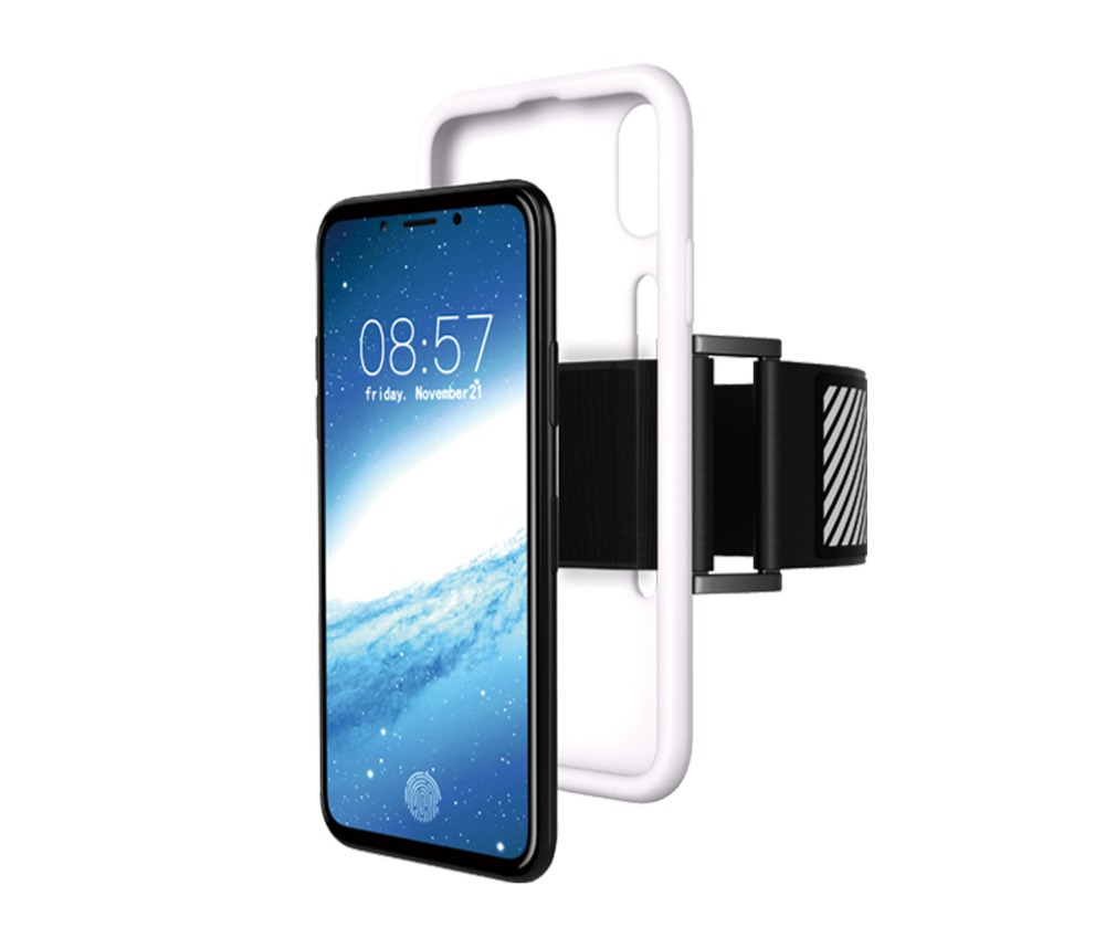 MXHYQ Sports Arm Band + Case for iPhone X Running Phone Cove
