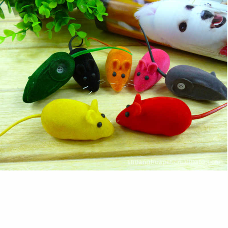 1 Uds sonajero chillón sonido masticable juguete falsa rata ratón para mascotas perro gato gatito juegos para cachorros suena muñecas regalo
