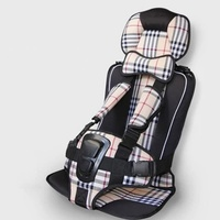 9 months 4 years Portable Baby Safety Seat Cushion Child Car Seat Cushion Pad Infant Safe Seat Thickening Sponge Kid Car Seats