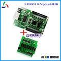 Linsn RV901 (incluem HUB placa de adaptador) cartão de recebimento tela led tela led RGB levou controlador de módulo